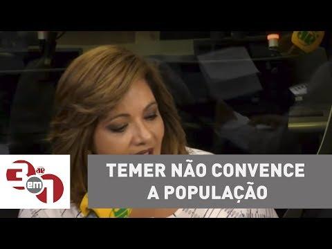 Denise Campos De Toledo: Temer Não Convence A População