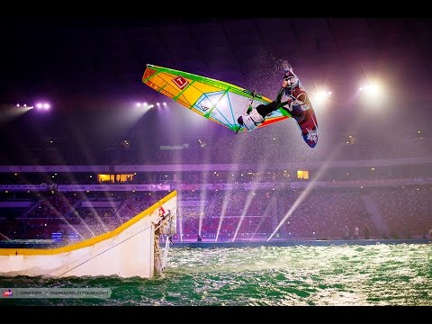 Warsaw PWA Indoor World Cup 2014 - Saturday night finals.