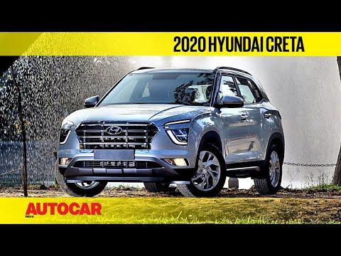 2020 Hyundai Creta Interior Revealed Walkaround First Look Autocar India Youtube