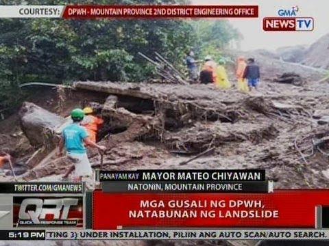 QRT: Panayam kay Natonin, Mt. Province Mayor Mateo Chiyawan