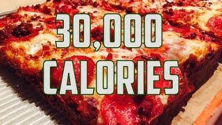 30,000 Calorie Cheat Day | ErikTheElectric