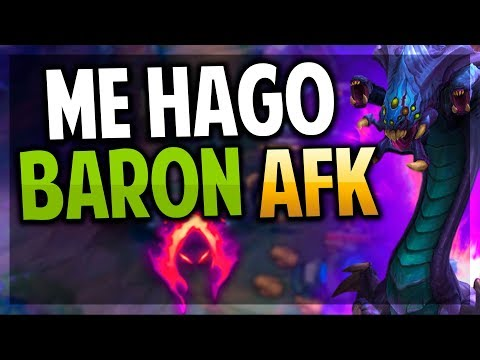 ¡ME HAGO BARON AFK! | ¡GANA SOLO CON SPLITPUSH! | TRYNDAMERE TOP | League of Legends