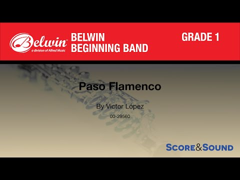 Paso Flamenco by Victor López - Score & Sound