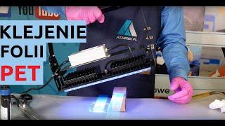 Video: Klej do plexi UV rzadki ATK UV16