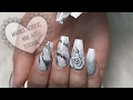 HOWTO: MARBLE ACRYLIC NAILS