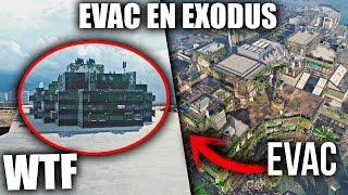 """MAPA de EVAC en EXODUS!! WTF?! """"MISTERIOS en BLACK OPS 3"""""""