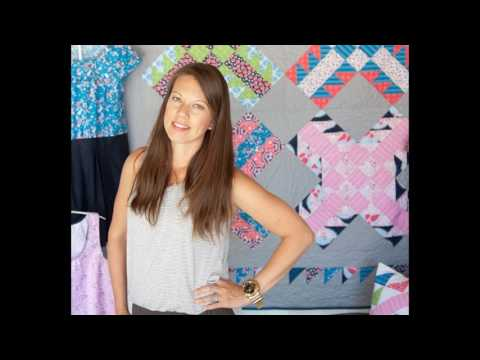 Fabric Design with Sandra Clemmons - Podcast with Leah Day #6