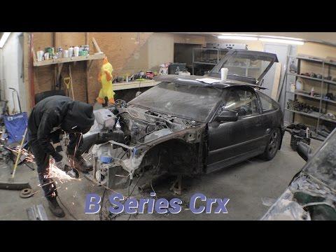 B Series Crx Build | Part 1