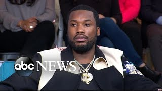 Rapper Meek Mill talks about his new criminal justice reform organization