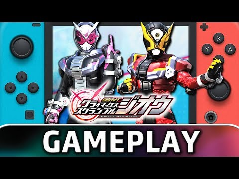 Kamen Rider: Climax Scramble | First 40 Minutes on Switch