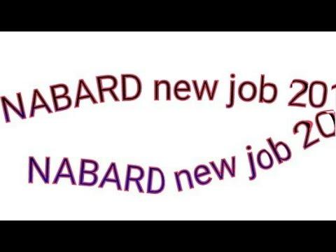 NABARD ASSISTANT MANAER GRADE A job 2018   19 new job