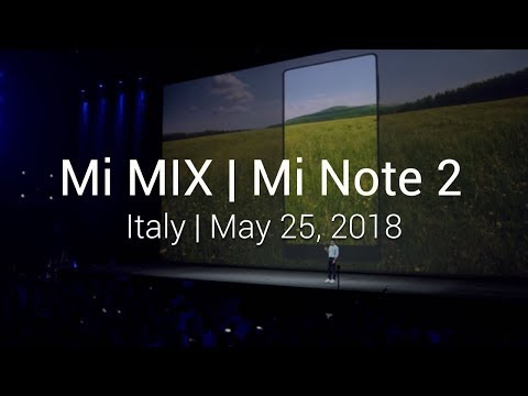 Mi Launch: China   Mi Note 2, Mi VR, Mi Mix   December 21, 2016
