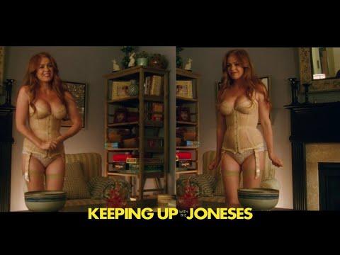Isla Fisher Sexy Scene   Keeping Up With The Joneses   Español Latino