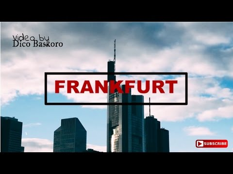 Photoshoot in Frankfurt - Germany (Cinematic)