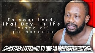 Christan Listening To Quran For The First Time With English Subtitles WOW!!!