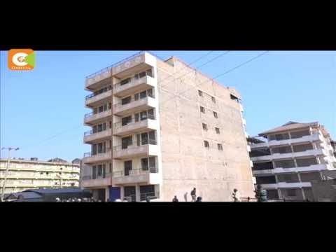 Live video of a 5-storey building collapsing in Kariobangi South, Nairobi