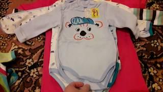 Распаковка заказа детской одежды ТМ