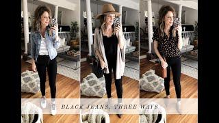 Shop Your Closet: Black Jeans