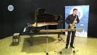 JAKUB JAROSZ – ELIMINATORY ROUND – I ANDORRA INTERNATIONAL SAXOPHONE COMPETITION 2014