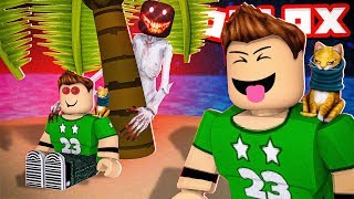 SURVIVE THE WORST ROBLOX MONSTER!! | Roblox Camping Part 33
