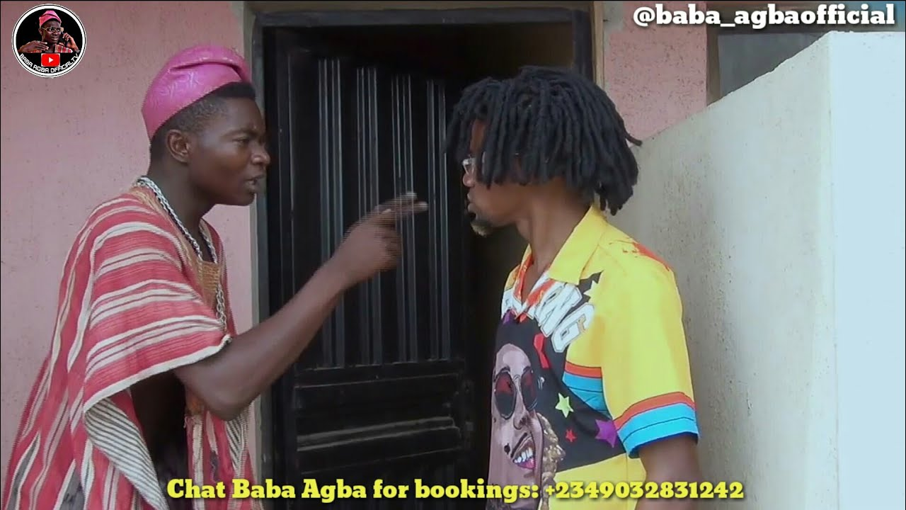 Download BABA AGBA BEST COMEDY VIDEO IN 2020    REAL HOUSE OF COMEDY FT BABA AGBA OFFICIAL TV