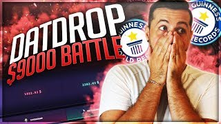 INSANE $9000 DATDROP BATTLE OPENING!!!