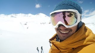 You won't believe where I went skiing!  5000m - Baralacha Pass