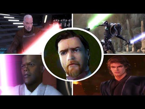 Star Wars Episode 3 All Bosses
