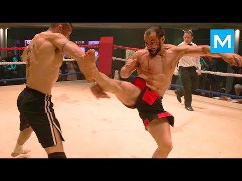 Real Boyka Stuntman - Tim Man   Muscle Madness