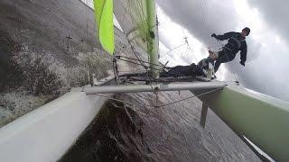 Nacra 5.5 Catamaranzeilen Koningsdag 2016