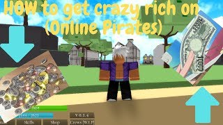 Roblox: Pirates Online -How to get beli super fast-tips