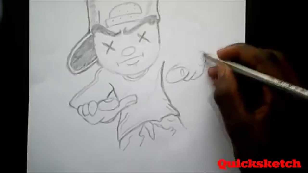 GRAFFITI DRawing (DOPE!!) CLassIc!!