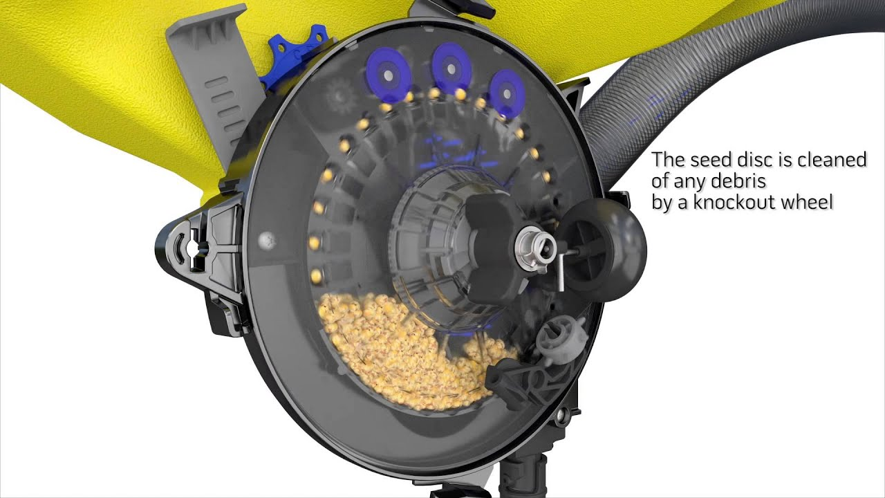 Tempo Planter Seed Meter  How It Works