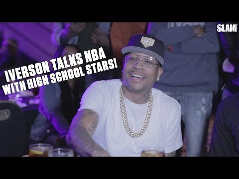 Allen Iverson Talks NBA Legends | Kobe Bryant, Shaq, LeBron, KD