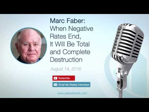 Marc Faber: When Negative Rates End, It Will Be Total and Complete Destruction