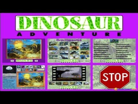 Dinosaur Adventure gameplay (PC Game, 1993) - YouTube