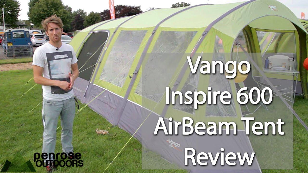 sc 1 st  YouTube & Vango AirBeam Inspire 600 Tent Review - 2015 Model - YouTube