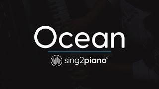 Ocean (Piano Karaoke Instrumental) Martin Garrix & Khalid