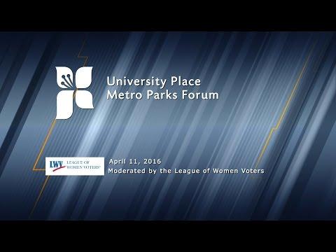 University Place Metro Parks Forum