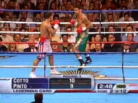 Kelson Pinto Vs Miguel Cotto 1/2