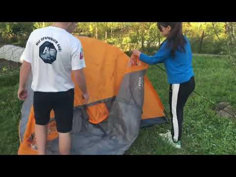 "Видеоурок ""Установка палатки"""