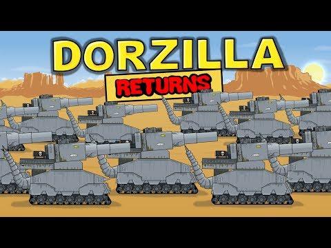 """""""Dorzilla Returns"""" Cartoons about tanks"""