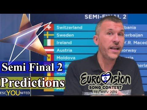 Eurovision 2019: Semi Final 2 Qualifiers - Predictions
