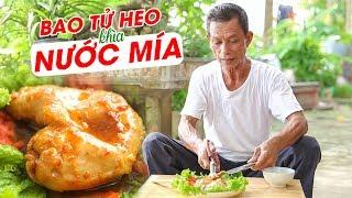 Ông Thọ Làm Món Bao Tử Heo Khìa Nước Mía Giòn Ngon | Pig's Stomach Simmered In Sugarcane Juice