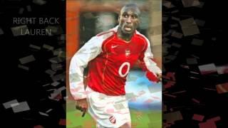 Arsenal-the invincible squad
