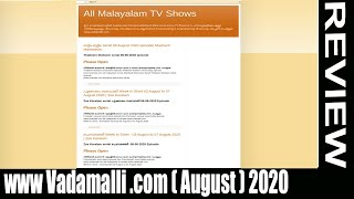 www Vadamalli .com [August 2020] Watch video to get more details? | Scam Adviser Reports