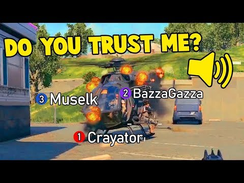 Friends BETRAYED and HUGE Explosions | CoD Black Ops 4 (Blackout) ft. Muselk, BazzaGazza & Crayator