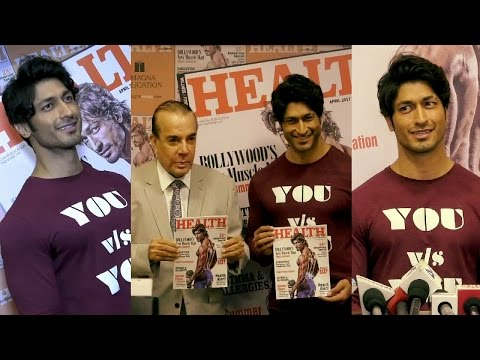 """UNCUT: Vidyut Jammwal On Coverpage Of """"Health & Ntrition"""" Magazine"""