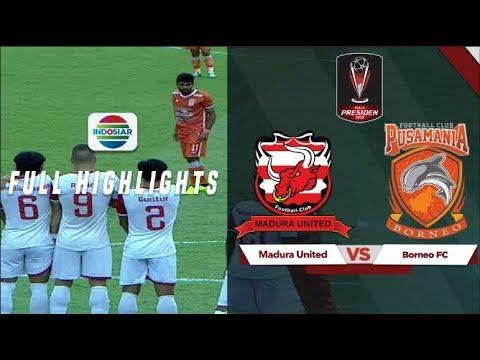 Madura United (1) vs (0) Borneo FC - Full Highlights