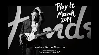 "【Fender × GM #3】Stratocaster ""Seattle"""